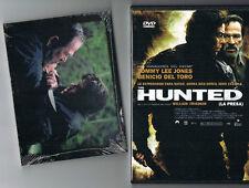 "DVD VIDEO: ""THE HUNTED (LA PRESA)   + POSTALES DE ESCENAS DE LA PELICULA"