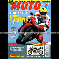 MOTO 1 N°162 HONDA CB 750 F VTR 1000 SUZUKI T20 GAS-GAS 250 PAMPERA BIMOTA YB 11