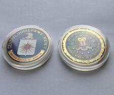 CIA Central Intelligence Agency&Federal Bureau Investigation FBI Challenge Coin