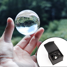Clear Crystal Ball 60mm K9 Glass Lens Sphere Photography & Decoration M&W