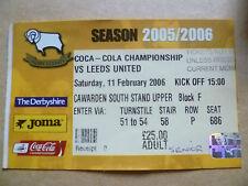 C Football League Fixture Tickets & Stubs (2004-Now)