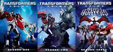 TRANSFORMERS PRIME COMPLETE SERIES SEASONS 1-3 New DVD Season 1 2 3
