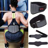"""Weight Lifting Belt 8"""" Wide Gym Lumber Back Support Belts Workout Men Women CFR"""