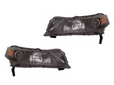 Headlights Replacement Set for 2012 2013 TL Projector HID Driver Passenger Pair