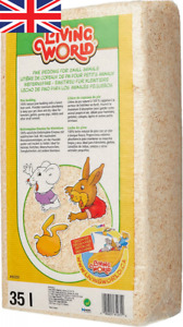Living World Shavings Small Animal Natural Pine Absorbent Bedding 14L, 35L, 56L