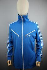 vintag Adidas Good Yers 2000's Vintage Mens Racing Blue Top Jacket  Size M