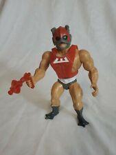 Vintage 1981 Zodac Figure w/ Gun He-Man MOTU Masters of the Universe Mattel