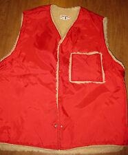 ZEROWEAR BY HYMAN large ski vest fleece vtg snowmobile skiing winter Zero Wear