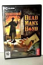 DEAD MAN'S HAND GIOCO USATO OTTIMO STATO PC CDROM VERSIONE ITALIANA VBC 30529