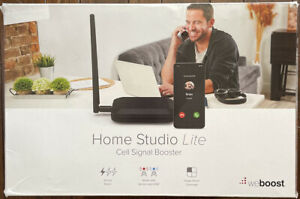 weBoost Home Studio Lite Cell Signal Booster - Black
