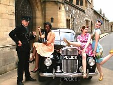 Vintage POLICE car hire.Classic Wedding car hire.1950s Wolseley big luxury 6.WOW