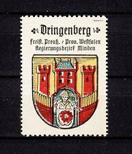 402744/ Reklamemarke - Kaffee Hag - Wappen von Dringenberg / Westfalen