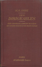 André - Les Dirigeables - Beranger Paris 1902 - Dirigibili Storia Aeronautica