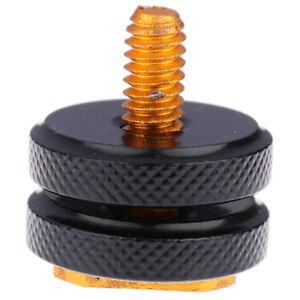 "1/4""Tripod Screw Hot Shoe Adapter Holder Mount Photo Accessories for SC-28 *^LI"