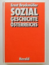 Sozialgeschichte Österreichs Ernst Bruckmüller Herold