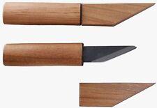 "Kanetsune Kiridashi-Knife ""Rikizan"" SK-4 Wild Cherry Wood Handle Sheath KB-613"