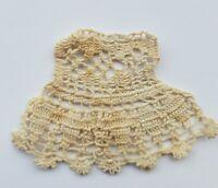Antique Tiny Lace Trim Embellishment Remnant Sewing Applique Doll A15
