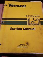 Vermeer D 46 Navigator Parts And Service Manuals