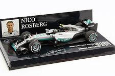Nico Rosberg Mercedes AMG F1 W07 #6 Fórmula 1 Campeón Del Mundo 2016 1:43