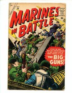 Marines In Battle #24 (1958) Atlas Comics GD/VG