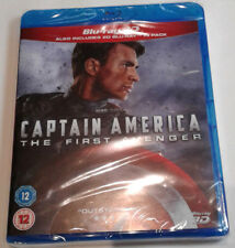 CAPTAIN AMERICA: THE FIRST AVENGER New 3D BLU-RAY (and 2D) 2-Disc Set Marvel MCU