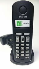Siemens Gigaset al14 parte mobile per al140 al145 + guscio di carica nuovo!