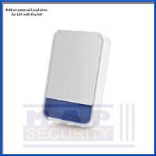 Mannequin sans fil visonic boîte Bell complet avec plaque arrière! mcs-700 nouveau uk stock