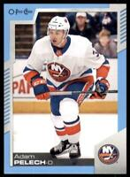 2020-21 UD O-Pee-Chee Blue Border #401 Adam Pelech - New York Islanders