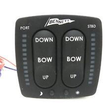 Bennett Trimmklappen Schalter 12V Steuerung LED Anzeige Beleuchtung Schalttafel