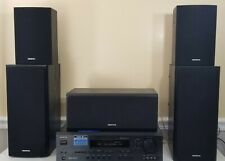 Onkyo HT-R520 Receiver & Home Theater System w/5 speakers surround sound-Tested
