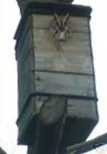 One=Screech Owl.or.Suet Owl.Lg- House.Nesting.Box.by. M.E.Holley Jr/