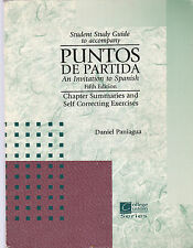 Student Study Guide to accompany PUNTOS  DE PARTIDA 5/e BEST PRICE