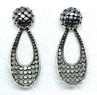 VINTAGE STYLE Stud Earrings in 925 Sterling Silver
