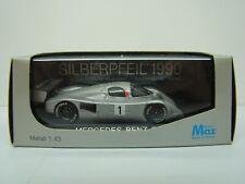 MODELS MAX - MERCEDES BENZ C11 SILBERPFEIL 1990 - WORLD CHAMPION - 1/43 - BOITE