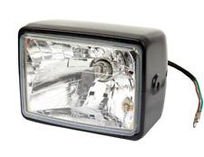 Klarglas Scheinwerfer Motorrad Enduro Mofa Moped universal H4 W5W Leuchtmittel