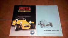 BROCHURE DEPLIANT ADVERTISEMENT WESTFIELD SE SEI + PRICE LIST ORIGINAL ENGLISH