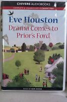 Drama Comes to Prior's Ford by Eve Houston: Unabridged Cassette Audiobook (U4)