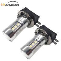 2pcs H11B 3030 16 LED Car Front Headlight Bulb Fog Lamp for KIA 10-30V White