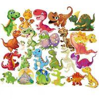 50 Fun Kids Cartoon Dinosaur Stickers Decal Childrens Bedroom Wall Dino Sticker
