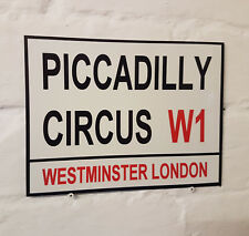 Londres calle signo-Piccadilly Circus-Metal Aluminio Signo