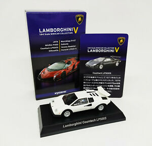 KYOSHO 1:64 - Lamborghini COUNTACH LP500S Minicar Collection V - White