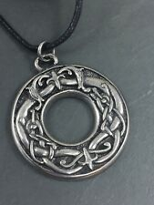 Viking Beasts Pendant Leather Cord Necklace by Asgard Crafts Norse Odin Thor
