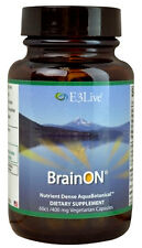 E3Live BrainOn for Focus Clarity & Balanced Mood Brain 400 mg 60 Capsules