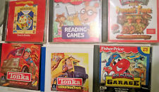 Kids Cd rom games ~ Lot of 6 ~ Great for home or early learning centers ~