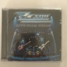Zz top live from texas cd 16 titres neuf sous blister
