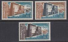 Mauretanien 1964 ** Mi.226/28 Nubische Denkmäler Nubian Monuments [sq5538]