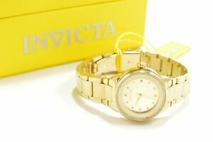 Invicta 29791 Angel Gold Tone Stainless Steel Bracelet Ladies Watch
