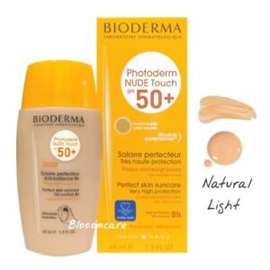 Bioderma Photoderm Nude Touch SPF50+ Natural Light Color Tinted 40ml Exp.01/2024