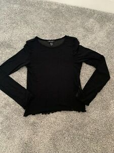 Ladies new look mesh top size 10