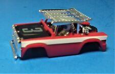 HO AURORA AFX Magna Traction FORD BAJA BRONCO Slot Car Body Vintage 1972, 2 Man